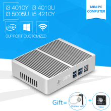Mini PC i3 5005U Windows10 Core 4010Y 4010U Dual core Mini Sever Computer with i5 4210Y Small Desktop Hdmi Wifi Usb 3.0