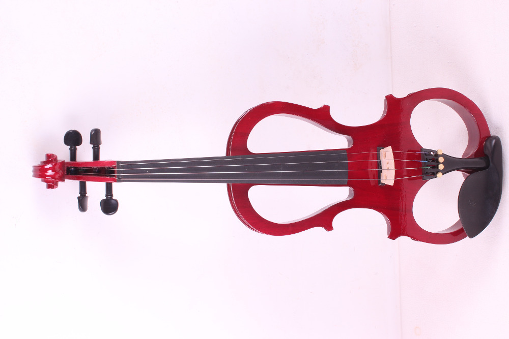 one red    4  -String 4/4 New Electric Acoustic Violin    #5-2501#  i can make any color 4