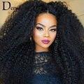 Норка Бразильский Девственные Волосы Курчавые Вьющиеся 7А Необработанные Человеческие Наращивание Волос Человеческих Волос Weave Связки Rosa Продукты Волосы