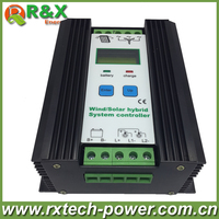 PWM Wind Solar Hybrid Controller 400w With LCD Display 12V 24V Auto Distinguish Battery Controller 600w