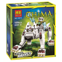 BELA 10072 Wolf Legend Beast Building Blocks Toys for Children 70127