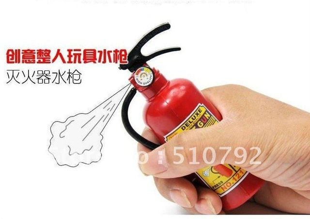 water guns Fire Extinguisher Squirt Gun Toys Funny Toys