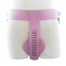 лучшая цена PU Leather Female Chastity Belt Device Underwear Restraint Harness Bondage Bdsm Adult Sex Toys For Woman Couples