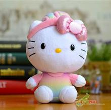 Baby Toy  rabbit  Hello Kitty doll plush kids toys gifts one piece