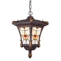 Outdoor IP44 Porch Pendant Lamp Garden Gate Hallway Pendant Lights Balcony Corridor Chain Hanging Lighting Fixtures