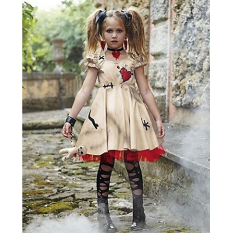 New Halloween Scary Ghost Costume For Women Girl Evil Princess