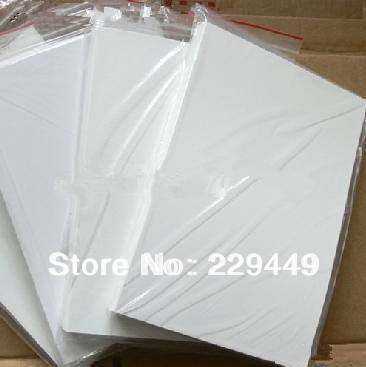 High gloss coated paper double faced a4 copper sheet paper double faced inkjet coated paper 200g a4 Size 50sheets