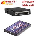 Unidade principal sem Token KESS V2 Fw3.099 Limitado ECU chip tuning KESS V2 Mestre apenas unidade principal kess transporte rápido