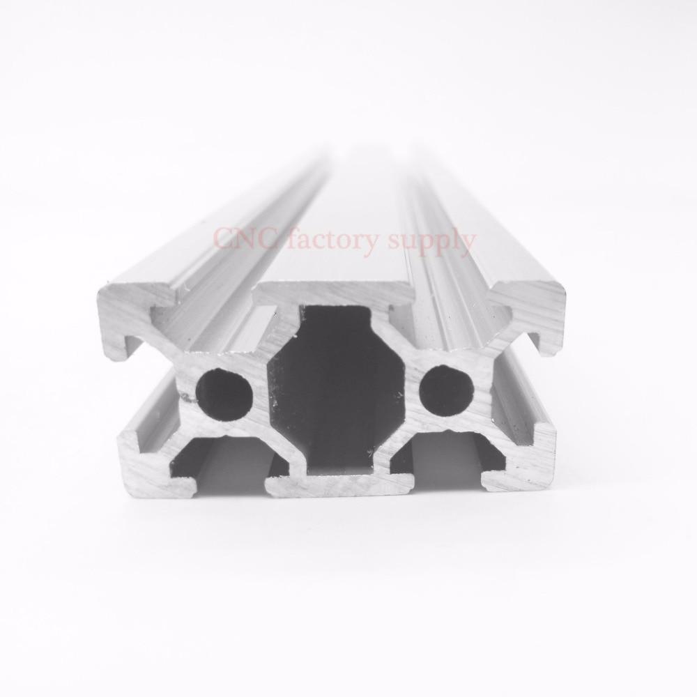 HOT Sale CNC 3D Printer Parts European Standard Anodized Linear Rail Aluminum Profile Extrusion 2040 for DIY 3D printer hot product 3d cnc machine for sale