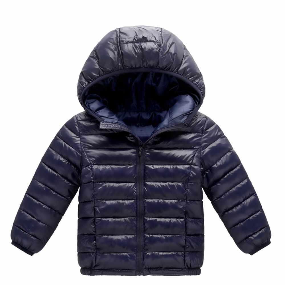 cc1e25684adbe ... MUQGEW 2018 Hot sale Baby Girl Boy Kids Cotton Jacket Coat Hooded Autumn  Winter Warm Children ...