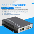 H.264 SDI HD Codificador De Vídeo e transmissor para IPTV, Suporte ONVIF NVR codificador codificador de Transmissão ao vivo