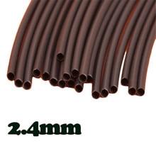 Различные Качества 4Ft Черный ID 1/10 Полиолефиновый 2:1 Термоусадочные Трубки Трубки Лучшее Продвижение