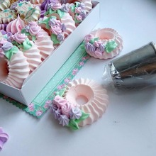 new arrival sulta  ne ring cookies mold piping nozzles russian icing set drop shipping