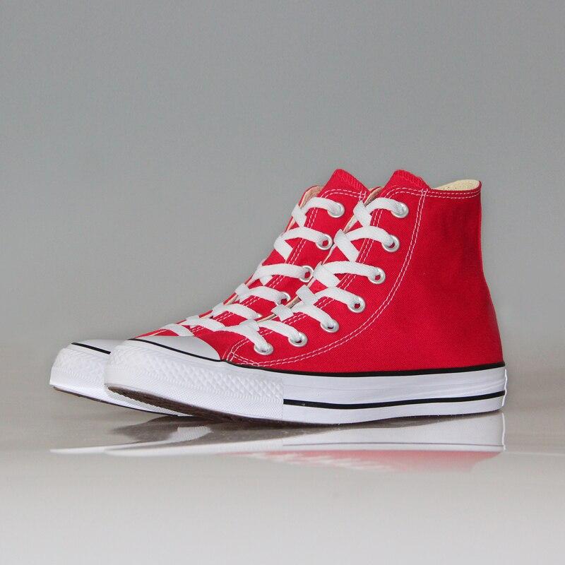 Nouveau Original Converse toutes les étoiles chaussures Chuck Taylor homme et femmes unisexe haute classique baskets chaussures de skate 101013 - 5