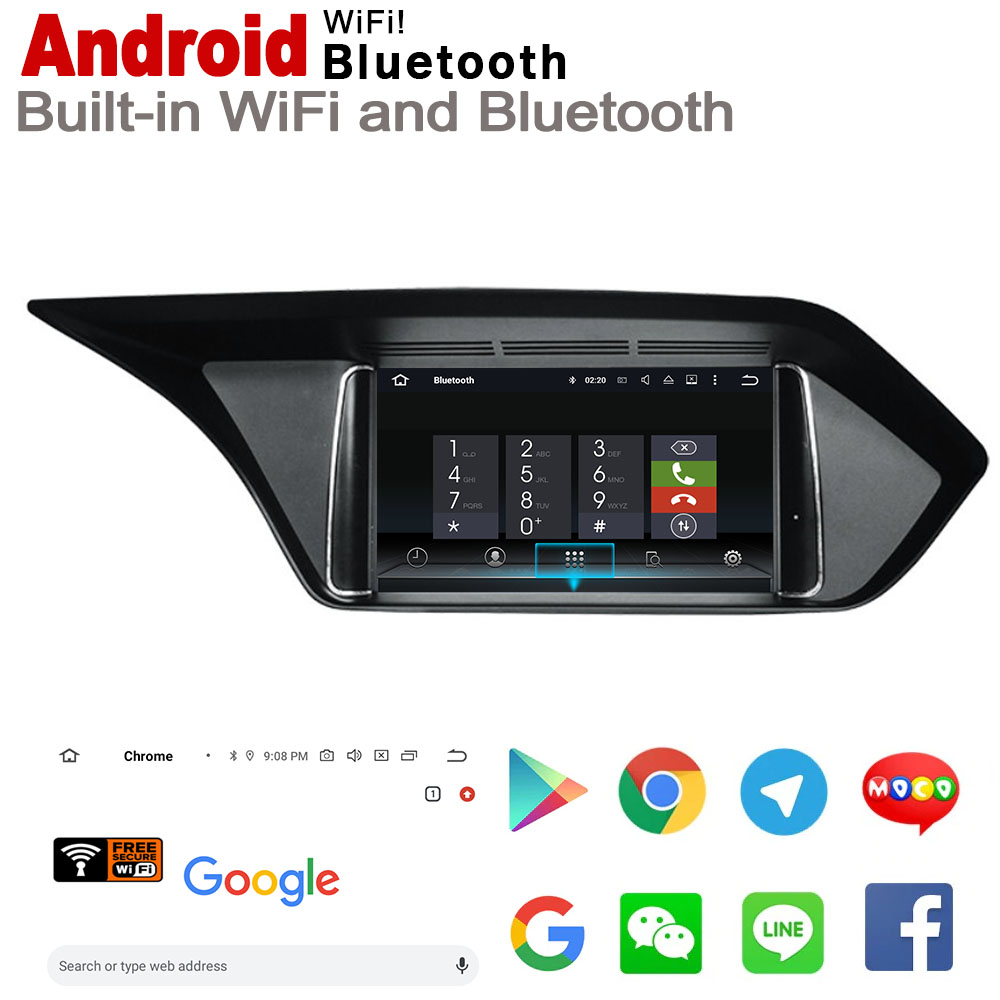 IPS Android 7 0 up car multimedia player gps navigation for Mecerdes Benz E W212 2013 2014 NTG original style HD screen WiFi BT in Car Multimedia Player from Automobiles Motorcycles