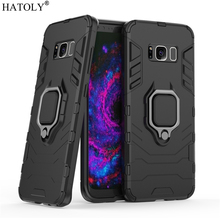 For Samsung Galaxy S8 Case Cover for Samsung Galaxy S8 Finger Ring Phone Case Shell Protective Armor Case For Samsung Galaxy S8