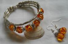 >>>> Caliente venta nuevo Estilo Fino de plata de Tíbet pendiente de la pulsera
