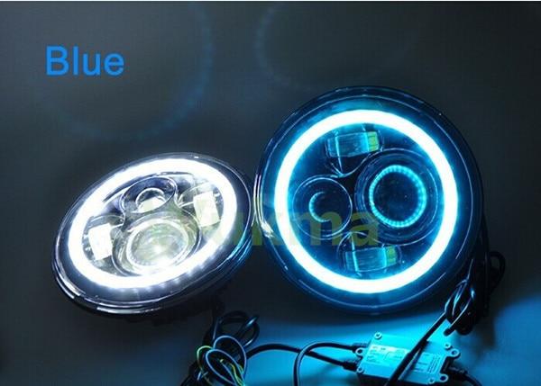 yüksək lumen super parlaq 2pcs 7inch 45W mühərrikli 12v-24V - Avtomobil işıqları - Fotoqrafiya 6