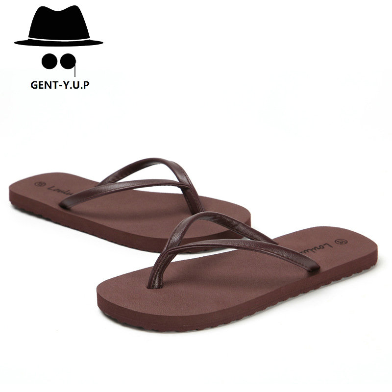 2019 Portable skid men flip-flops  leisure flat Eva beach slippers men sandals in summer shoes men lazy indoor LX010(China)