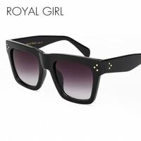 ROYAL GIRL New Fashion Retro Sunglasses Women 2017 Popular Brand Designer Square Style Sunglasses UV400 Ss268
