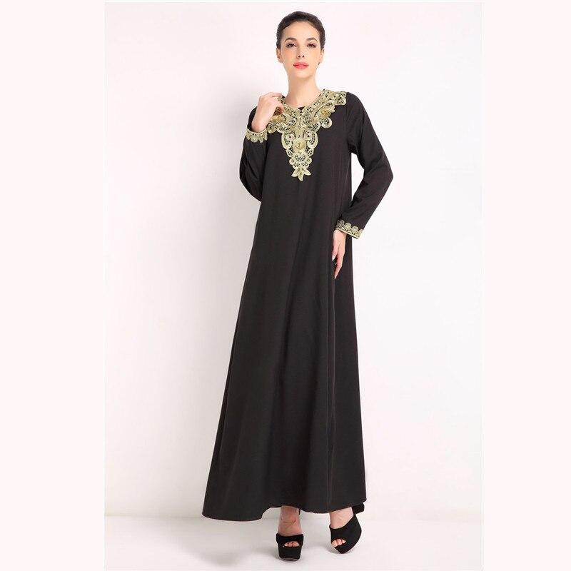 Мусульманские платья с вышивкой