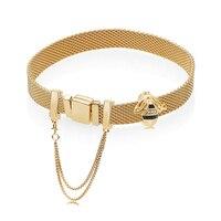 New Authentic 925 Silver Bracelet Rose Reflexions Ladybird Clip Charm Bracelet fit Original Bracelet DIY Jewelry Gift for women