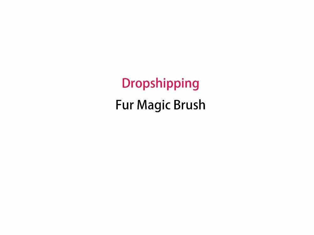 Dropshipping Pelliccia Tessuto di Pulizia Spazzole Pet Hair & Lint Remover Panno Magico Pennello Come Visto in TV