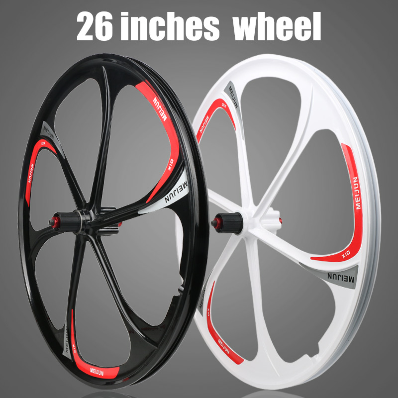 MTB Magnesium Alloy Wheels 26 Inches Bicycle Wheel Disc Brake Mountain Bike Bearing Wheelset 2018 anima 27 5 carbon mountain bike with slx aluminium wheels 33 speed hydraulic disc brake 650b mtb bicycle
