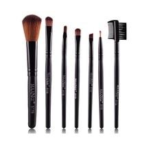 Maquillaje Pinceles Set Profesional Pelo de la Cabra de Maquillaje Cepillo Conjunto de Herramientas Cosmética 7 Unids