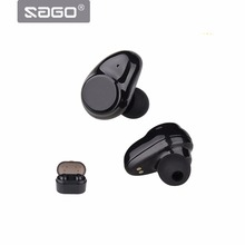 True Wireless Sport Bluetooth Earphones X7,Noise Cancelling Headset BT4.2 IPX5 Waterproof Mega Bass Quiet Touch Key for Iphone 8