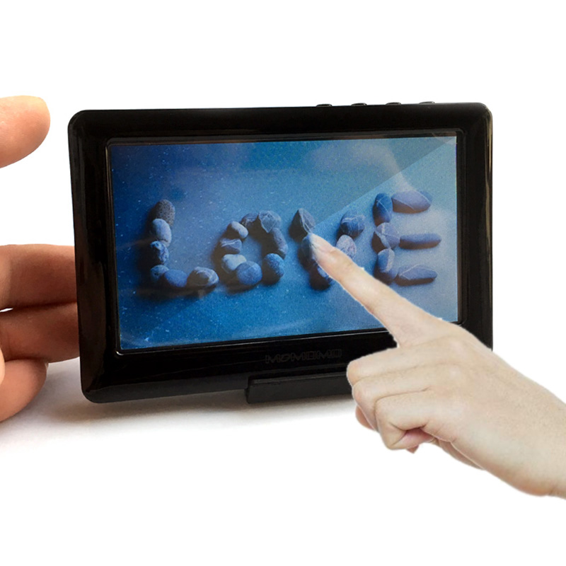 Digital MP4 Player 4 3 inch Touch Screen 8GB Memory Capacity With FM Video playes music