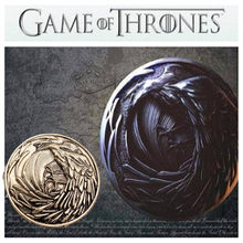 Game of Thrones Crow Night's Badge Song of Ice and Fire Inspired Fantasy Brooch Pin Cosplay Prop(China)
