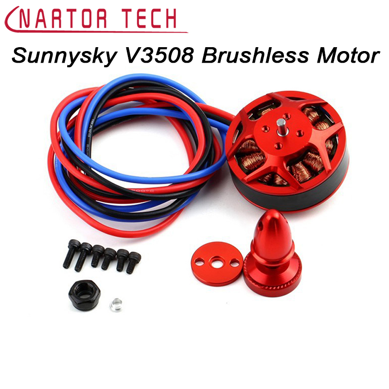 Free Shipping Original Sunnysky V3508 380KV 580KV 700KV 4S 6S Brushless Motor for Multicopter Quadcopter RC Airplane цена 2017
