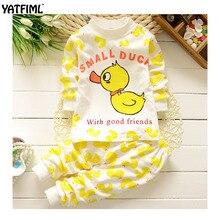 YATFIML 2017 Autumn Winter New Style Cute Newborn Infant Sleepy Boys Girls Baby Sleeping Suit Cotton