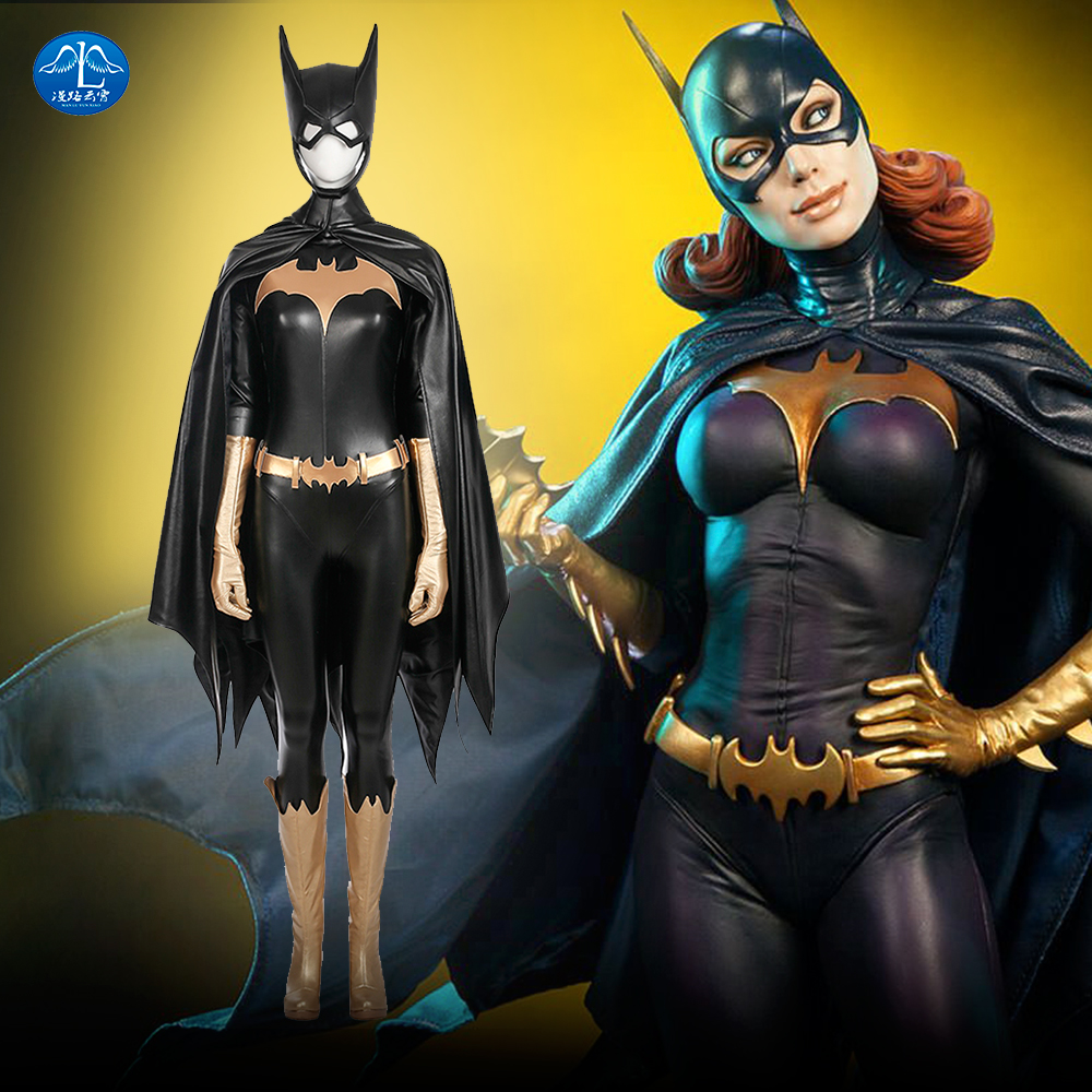 MANLUYUNXIAO Nuovo arrivo Costume donna Batgirl Costume Cosplay Halloween Costume Cosplay per le donne Custom Made di base
