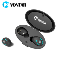 VONTAR T8 TWS Magnetic Mini Wireless Earbuds Twins Earphone Bluetooth Headphone With Battery Box Hands Free