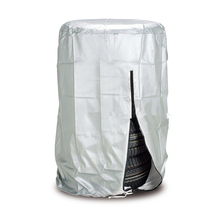 Car Tire Cover 4 wheels Spare Tire Covers Silver Tyre Accessories For Winter Summer Polyester Tires
