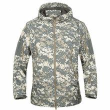 Army TAD Camouflage Coat Military outerwear Waterproof Windbreaker Raincoat Clothes Army fleece warm Men Jackets Coats