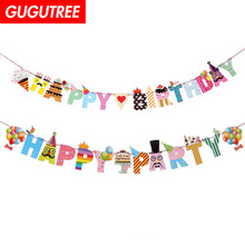 Decorate 2.2m happy letter banners wedding event christmas halloween festival birthday party HY-432 decorate 2 2m boys gilrs family banners wedding event christmas halloween festival birthday party hy 435