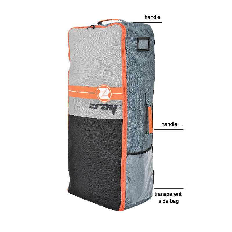 Sup board sac de transport stand up paddle board sac à dos solide polyester magasin bagages kayak canot radeau accessoire pagaie grand volume