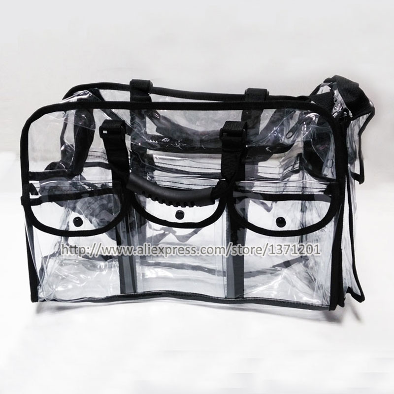 Large Capacity Womens Cosmetic Bag Travel Makeup Clear Pvc Toiletry Holder In Bags Cases From Luggage