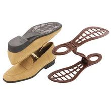 1 Pair Plastic Shoe Trees Space Saver Shoes Rack Organizer Shoes Holder Supporter Closet Storage Shoe Orgainizer Holder MS623