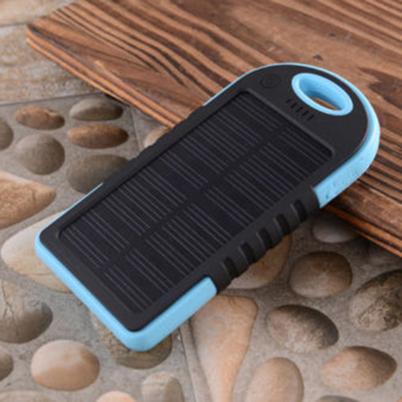 Dual USB Solar LED 5000mAh Power Bank Case Battery Charger DIY Kit for Cell Phone (DIY by Yourself )