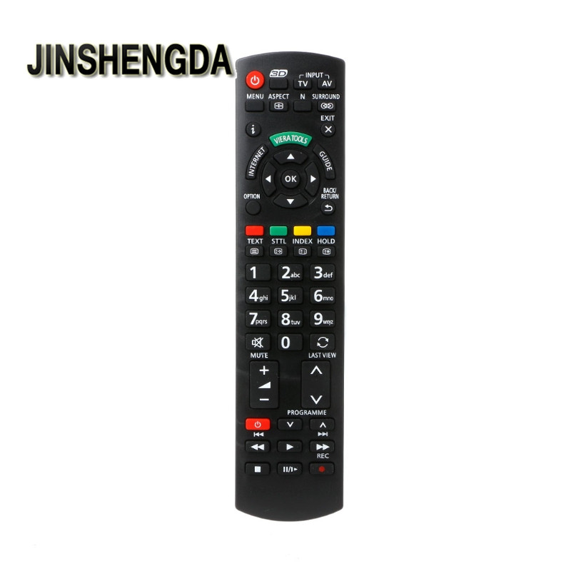 JINSHENGDA Remote Control Replacement For Panasonic TV