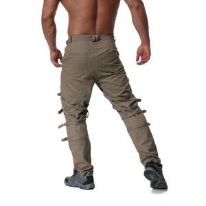 Image 5 - Pantalones Cargo con cremallera de decoración de Metal de alta calidad, Jogger de Hip Hop, pantalón de chándal urbano, ABZ183