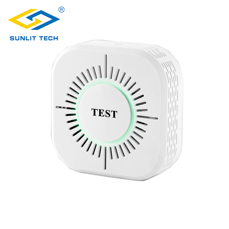 Wireless 433MHz Smoke Detector Independent Fire Alarm Sensor For Smart Home Indoor Security 360 Degree Fire Smoke Alarm Detector