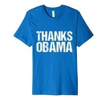 Tee Shirt Casual Sleeve Short Men Thanks Obama O-Neck Compression T Shirts