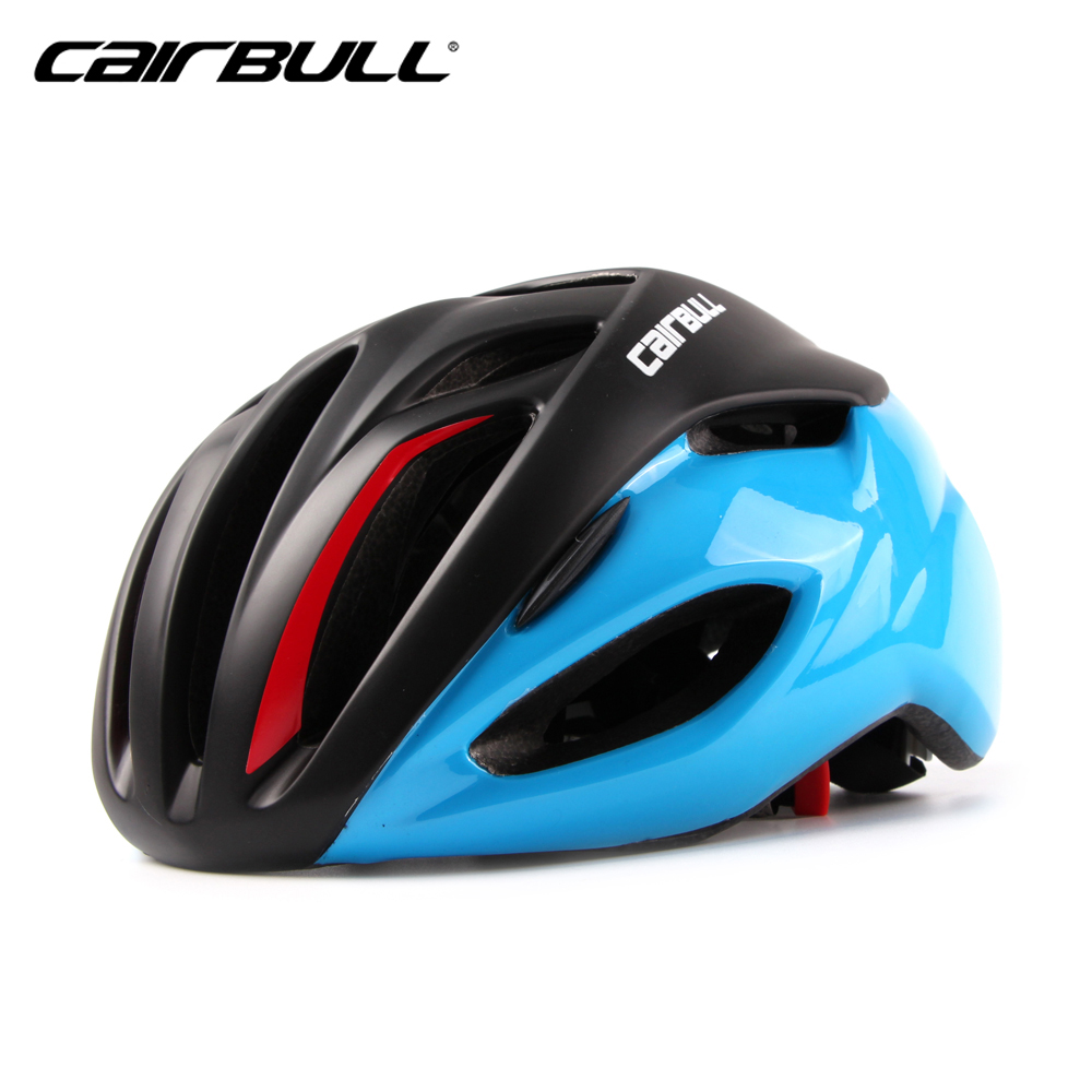 CAIRBULL Ultralight Bike Racing Helmet 55-62cm Reduce Wind Resistance Bicycle Safe Caps 19 Air Vents Breatheable Cycling Helmets
