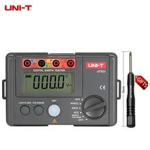 UNI-T мегомметром UT522 цифровой заземления сопротивление изоляции Тестеры Новый