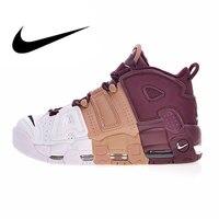 Оригинальный Nike Оригинальные кроссовки Air более ритмично Для мужчин на открытом воздухе спортивная обувь кроссовки обувь классические Спо